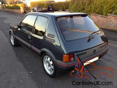 1988 peugeot 205 gti 1.6, very rare, registered in usa, restored and