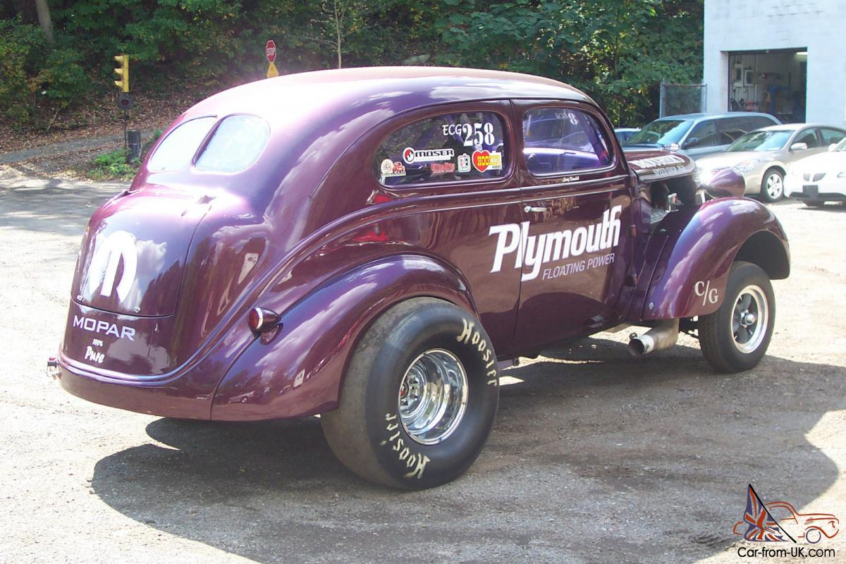 1937 plymouth gasser