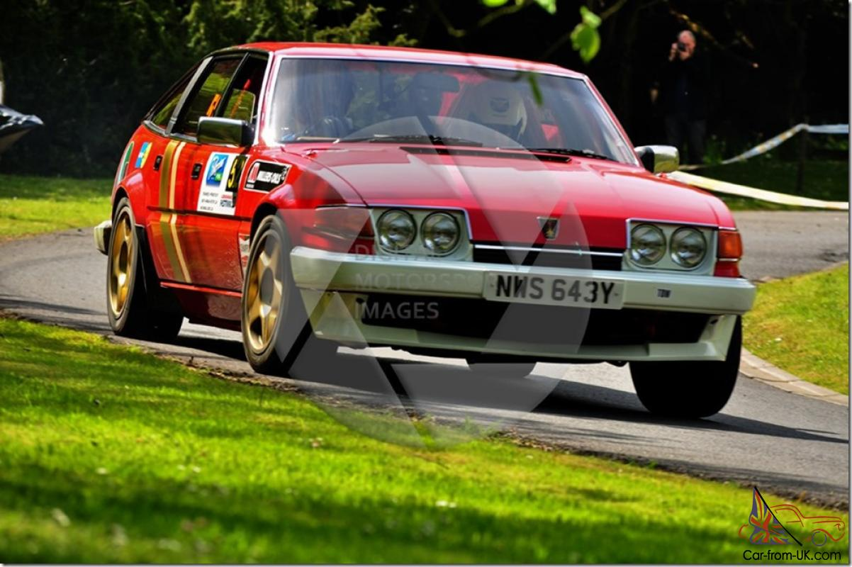 Rover Vitesse SD1 GrpA Replica, Fresh Built, Rally Or Race Car,