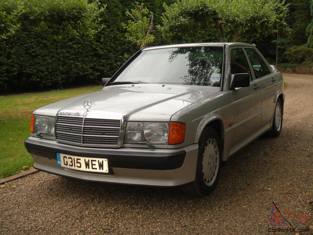 1989 mercedes benz 190e 2 5 16 cosworth manual the