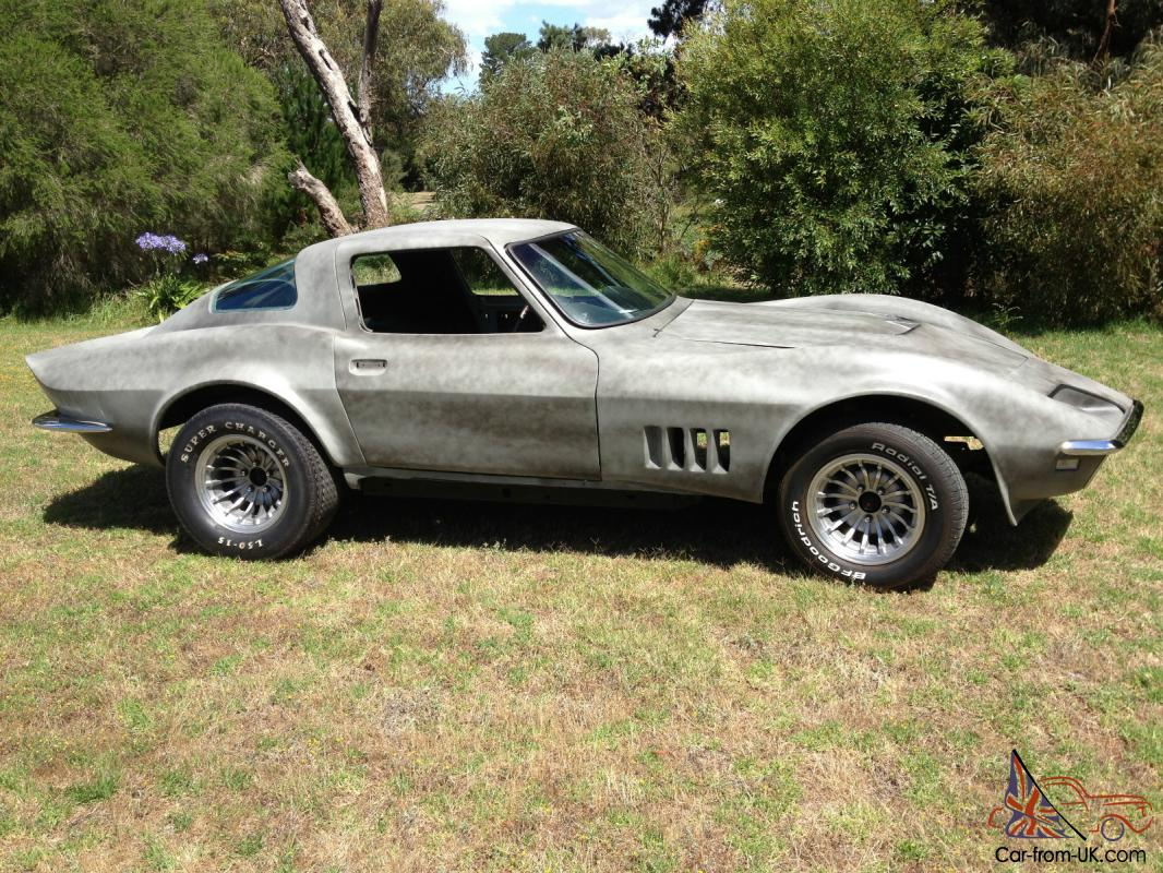 Modified 1965 Corvette Stingray Coupe C2 Unfinished Project in ...
