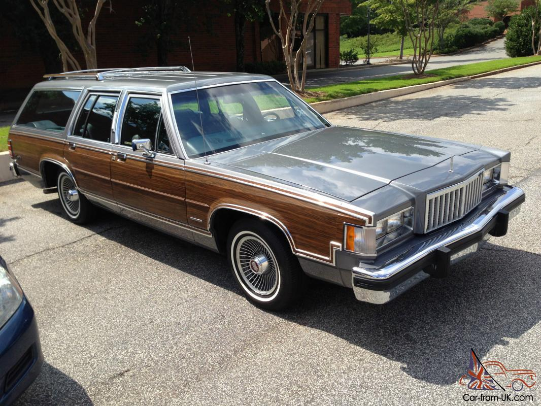 1983 mercury ford colony park station wagon 4400 original miles. Black Bedroom Furniture Sets. Home Design Ideas