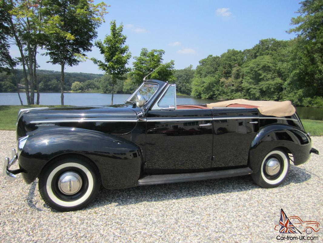 1940 mercury eight four door convertible. Black Bedroom Furniture Sets. Home Design Ideas
