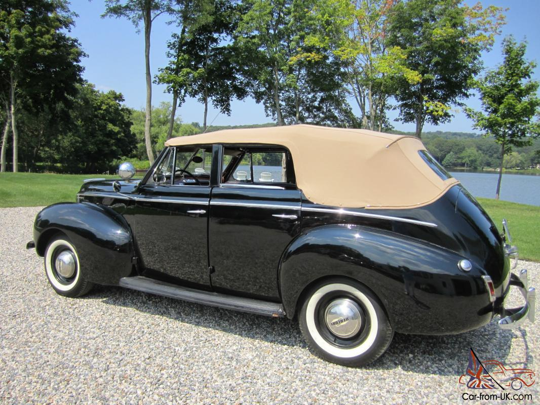 1940 mercury eight four door convertible