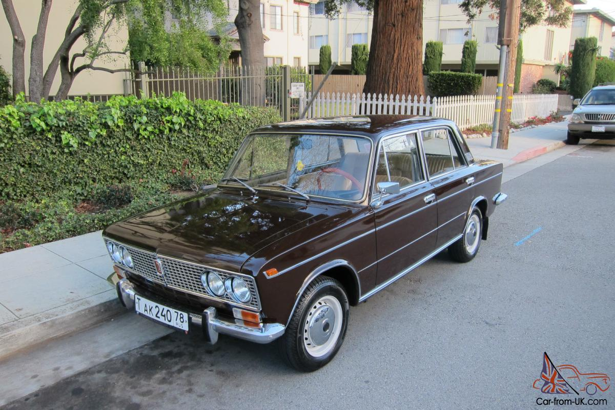 1975 Lada 2103 Vaz Zhiguli Titled And Registered In Ca