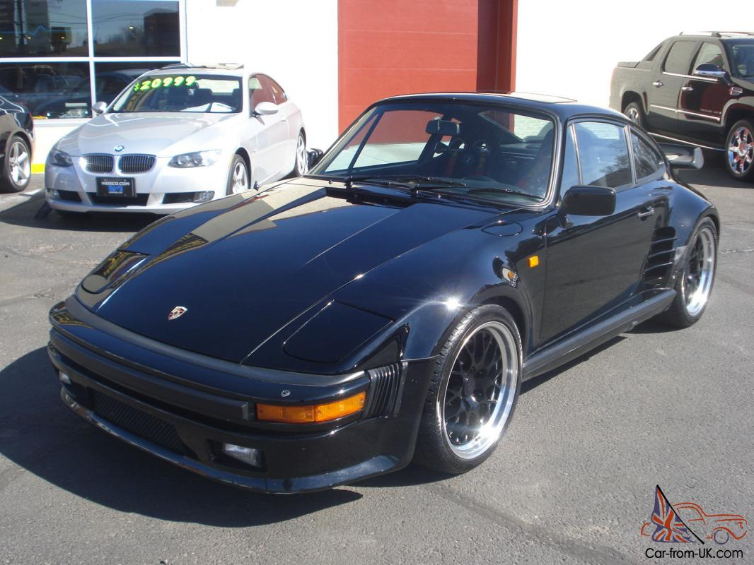 1983 porsche 930 turbo factory 505 code slant nose coupe. Black Bedroom Furniture Sets. Home Design Ideas