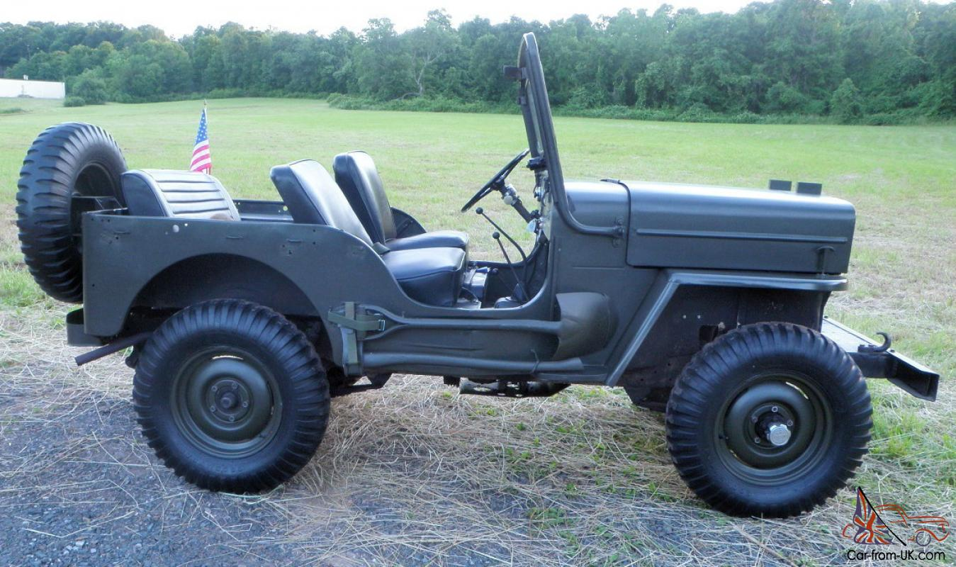 1962 Willys Cj3b Jeep