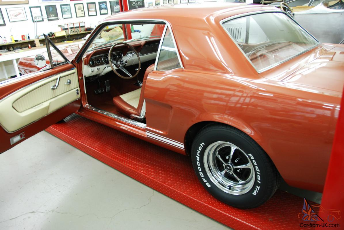 1966 Mustang Rare Emberglo Gt Coupe Stunning Restoration