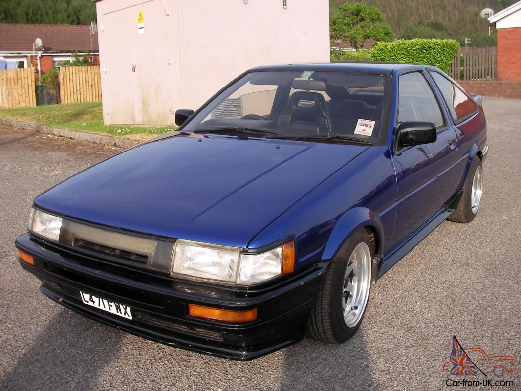 toyota corolla gt coupe levin rwd gti ae 86 1985 tax and moted. Black Bedroom Furniture Sets. Home Design Ideas