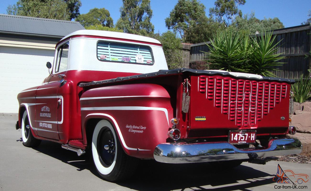 1955 ford f100 street rod truck sold - 55 Chevy Pickup Truck Custom Hot Rod Shop Truck Not F100 Ford In Melbourne Vic