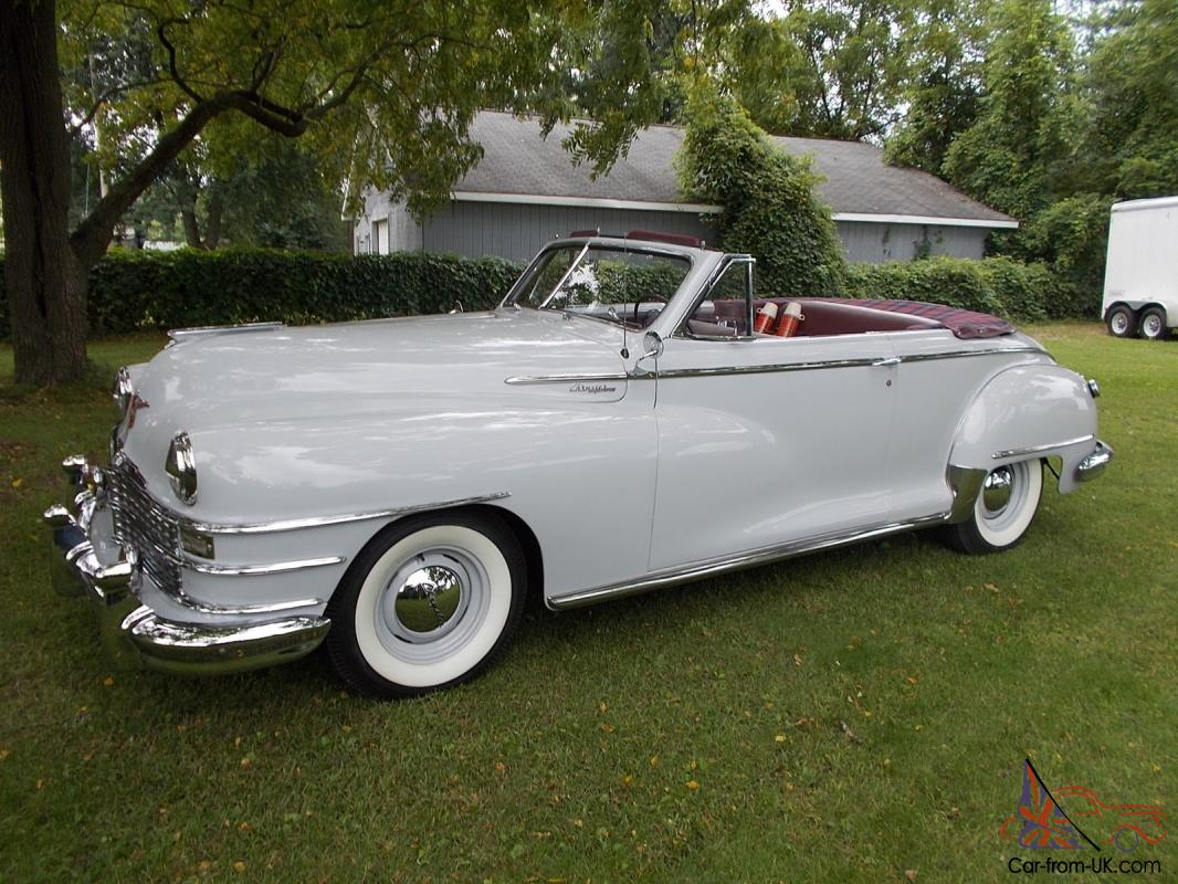 1948 Chrysler Highlander Convertible