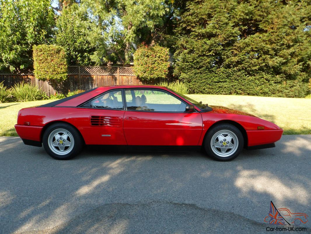 ferrari mondial t coupe. Black Bedroom Furniture Sets. Home Design Ideas