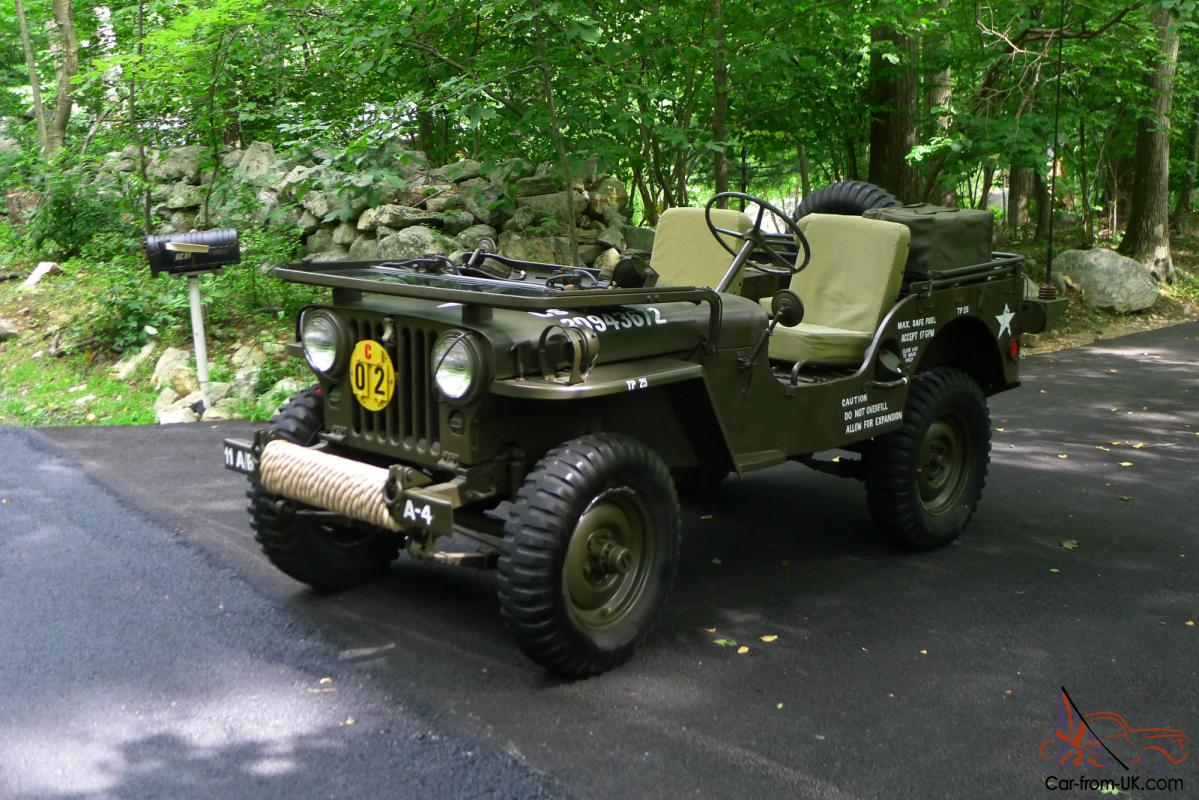 M38 Jeep For Sale >> 1952 WILLYS M38 JEEP - KOREAN WAR ARMY MILITARY VEHICLE FULLY RESTORED