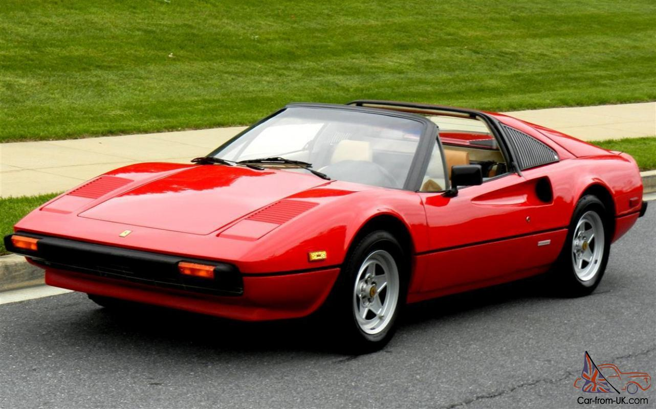 1981 ferrari 308 gtsi targa. Black Bedroom Furniture Sets. Home Design Ideas