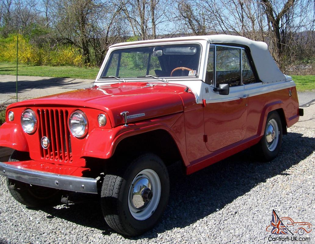 -Sale http://www.pic2fly.com/1967+Jeepster+Convertible+For+Sale.html