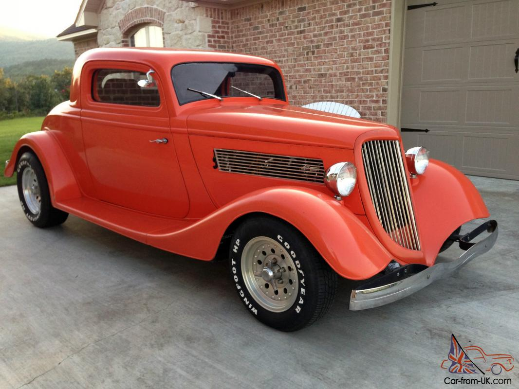 1934 ford 3 window coupe no reserve for 1934 ford three window coupe for sale