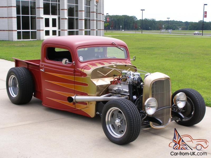 1935 FORD ALL STEEL NEW/OLD SCHOOL HOT ROD.