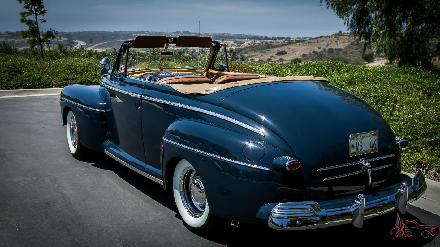 1946 ford convertible. Black Bedroom Furniture Sets. Home Design Ideas