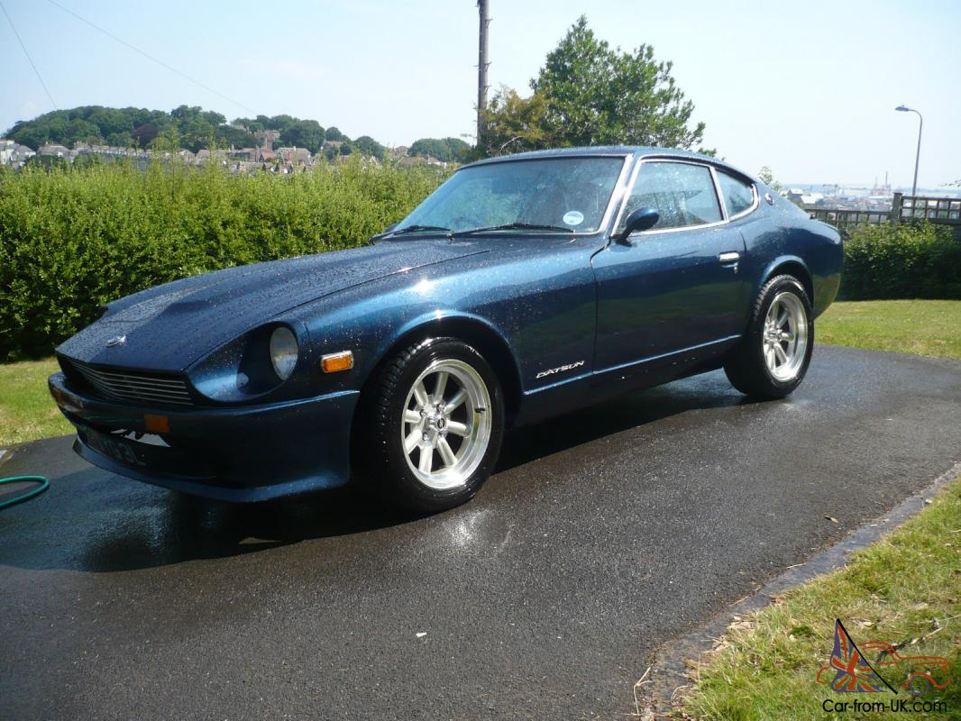 1972 datsun 240z uk rhd car with original engine. Black Bedroom Furniture Sets. Home Design Ideas