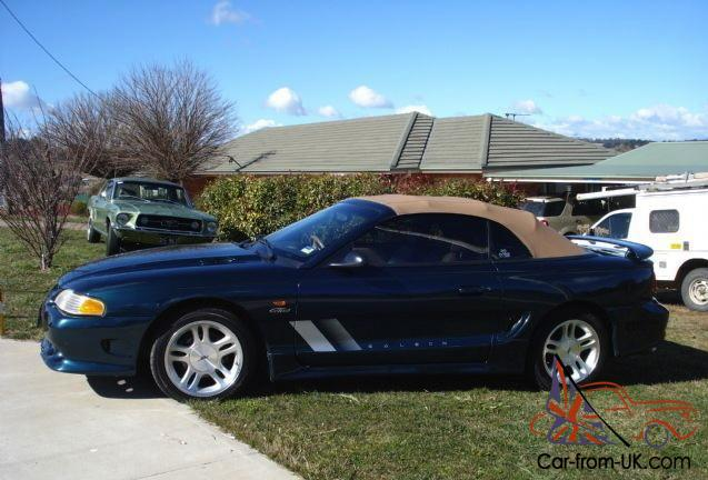 1997 Ford Mustang Gt Convertible Saleen S281 In Sydney Nsw
