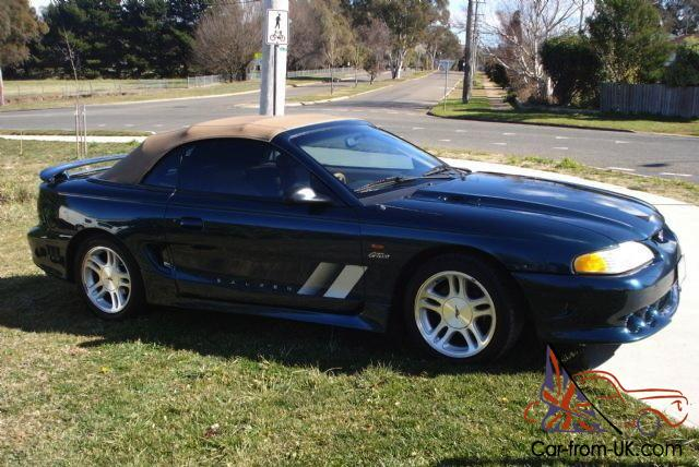 1997 ford mustang gt convertible saleen s281 in sydney nsw. Black Bedroom Furniture Sets. Home Design Ideas