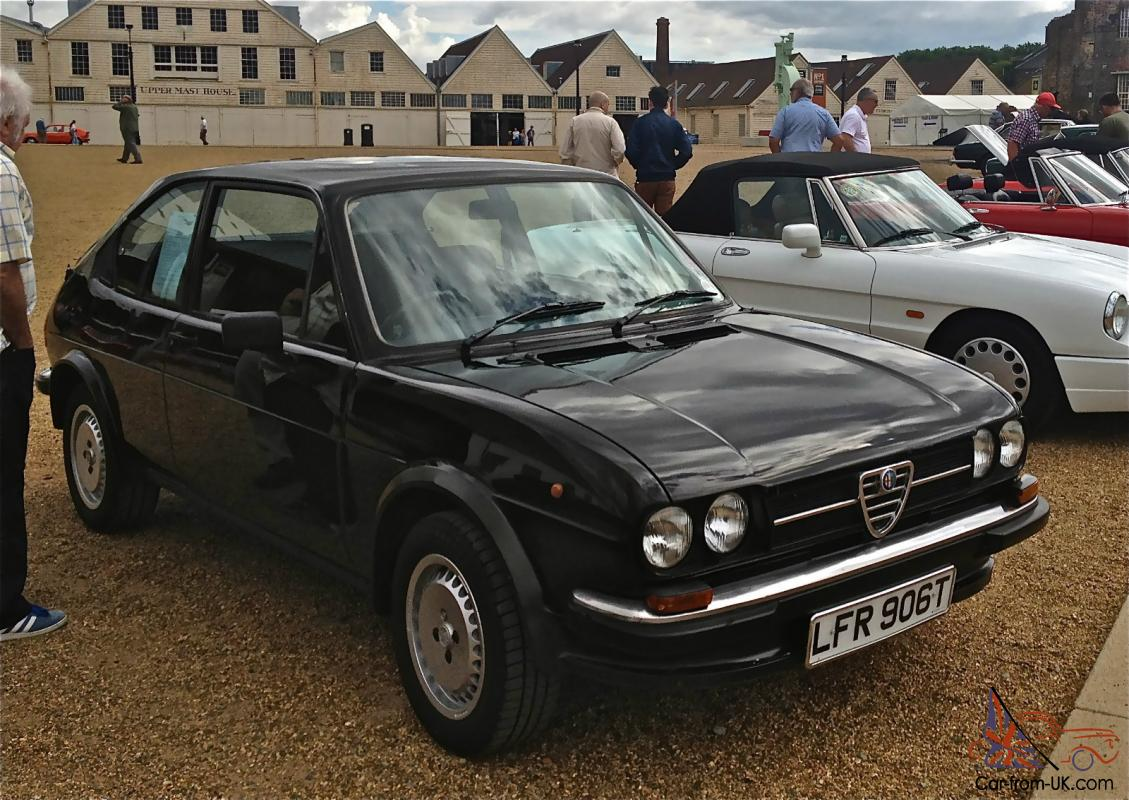 ALFA ROMEO ALFASUD Ti Series Gloss Blackblack Int - Alfa romeo alfasud for sale