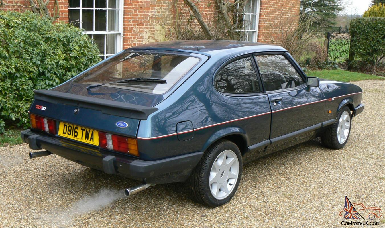 1987 ford brooklands capri 280 fully restored. Black Bedroom Furniture Sets. Home Design Ideas