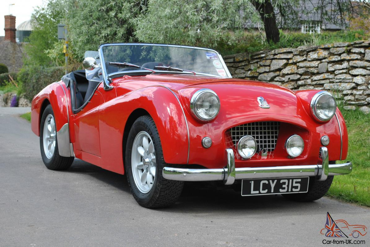 1954 TRIUMPH TR2 CHASSIS UP RE...