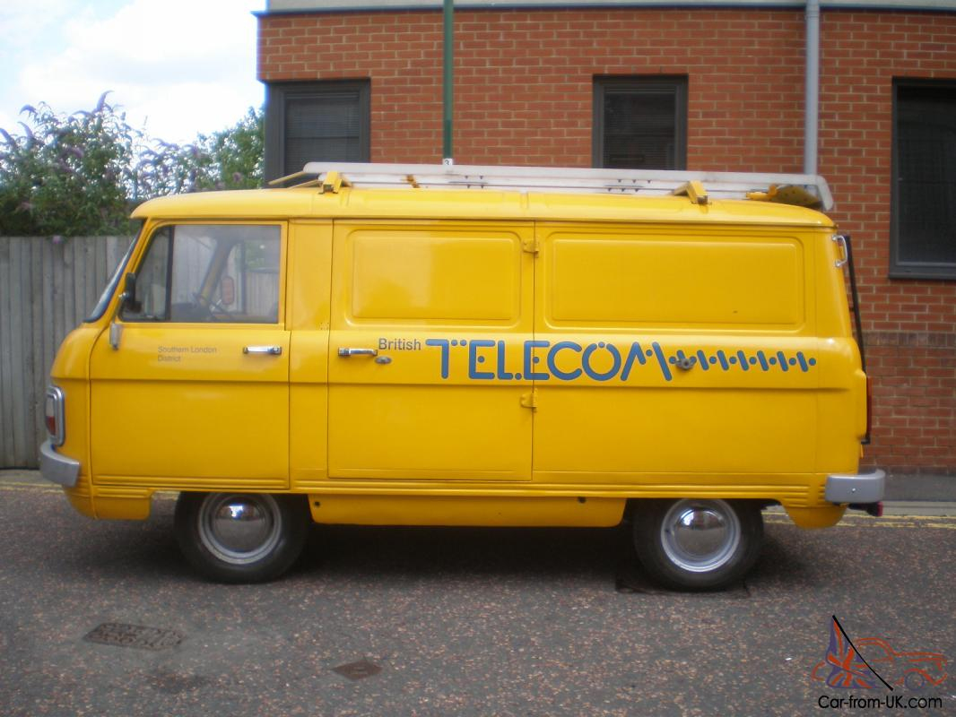 1981 Dodge Commer Spacevan Genuine Bt Engineer Van