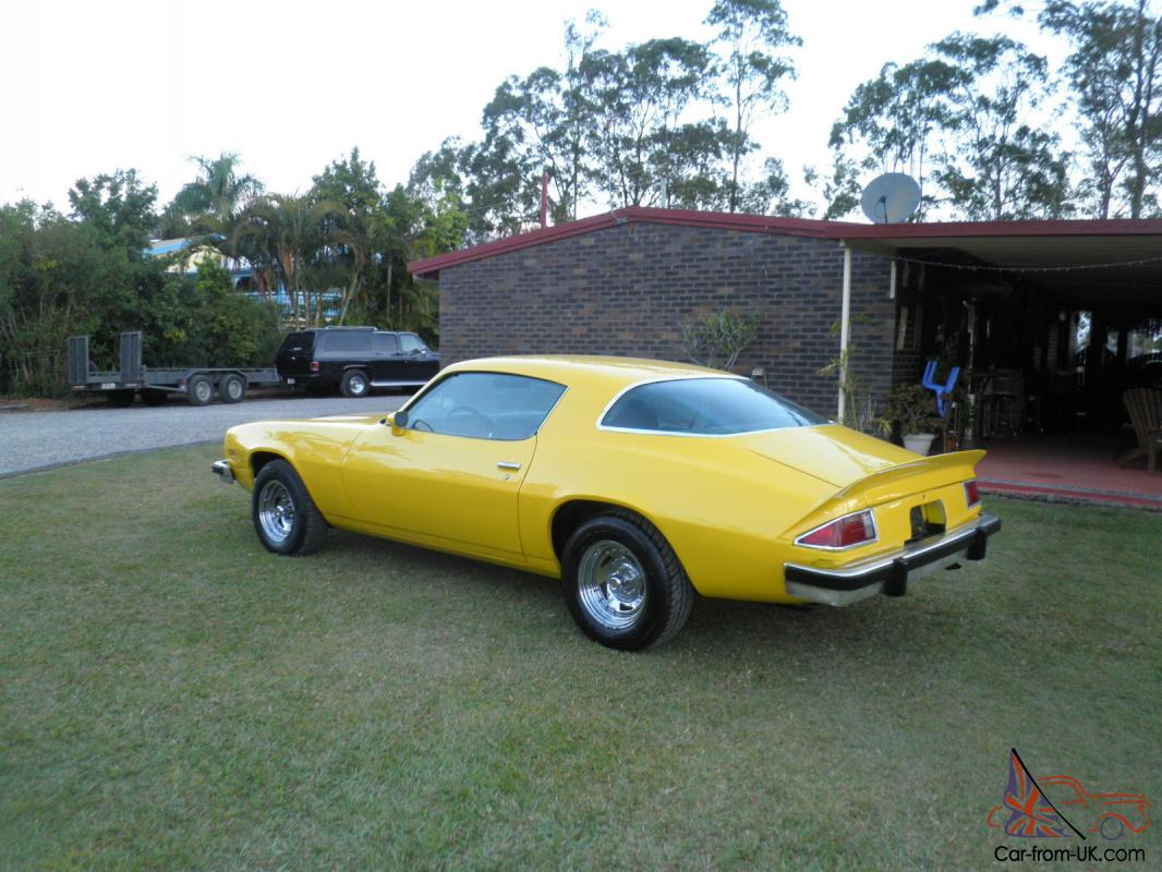 1977 Chevrolet Camaro In Brisbane Qld