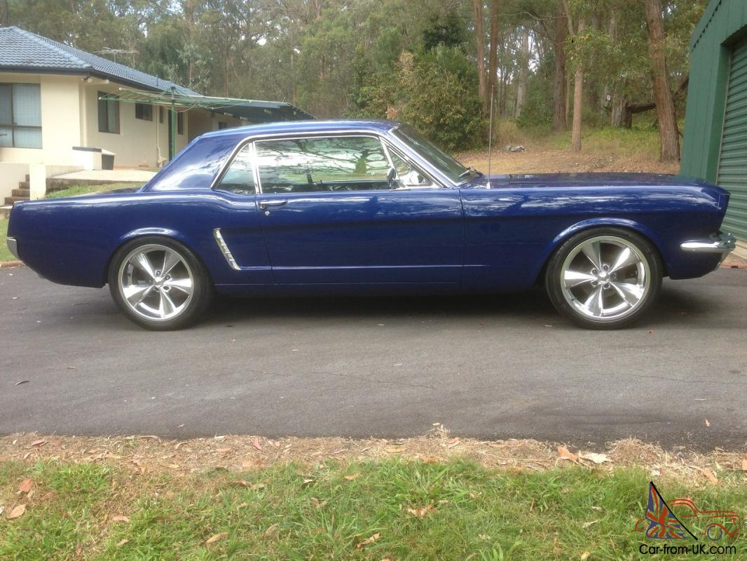 Ford mustang 1965 pony genuine c code enhanced 289 v8 tricked c4 trans in brisbane