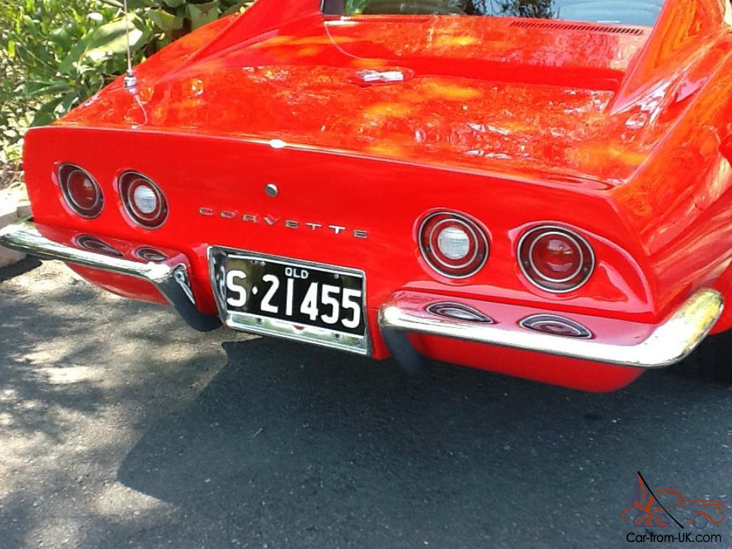 1971 Chevrolet Corvette Stingray C3 Priced TO Sell in Brisbane, QLD