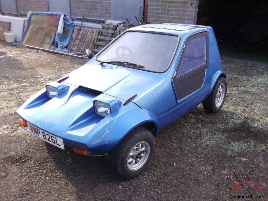 Bond bug webster 4 wheel no3 of 22 rare micro car 18 miles since new publicscrutiny