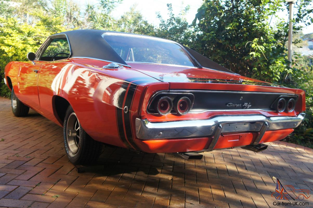 1968 Dodge Charger 440 Magnum R T In Brisbane Qld 1969 Color Chart