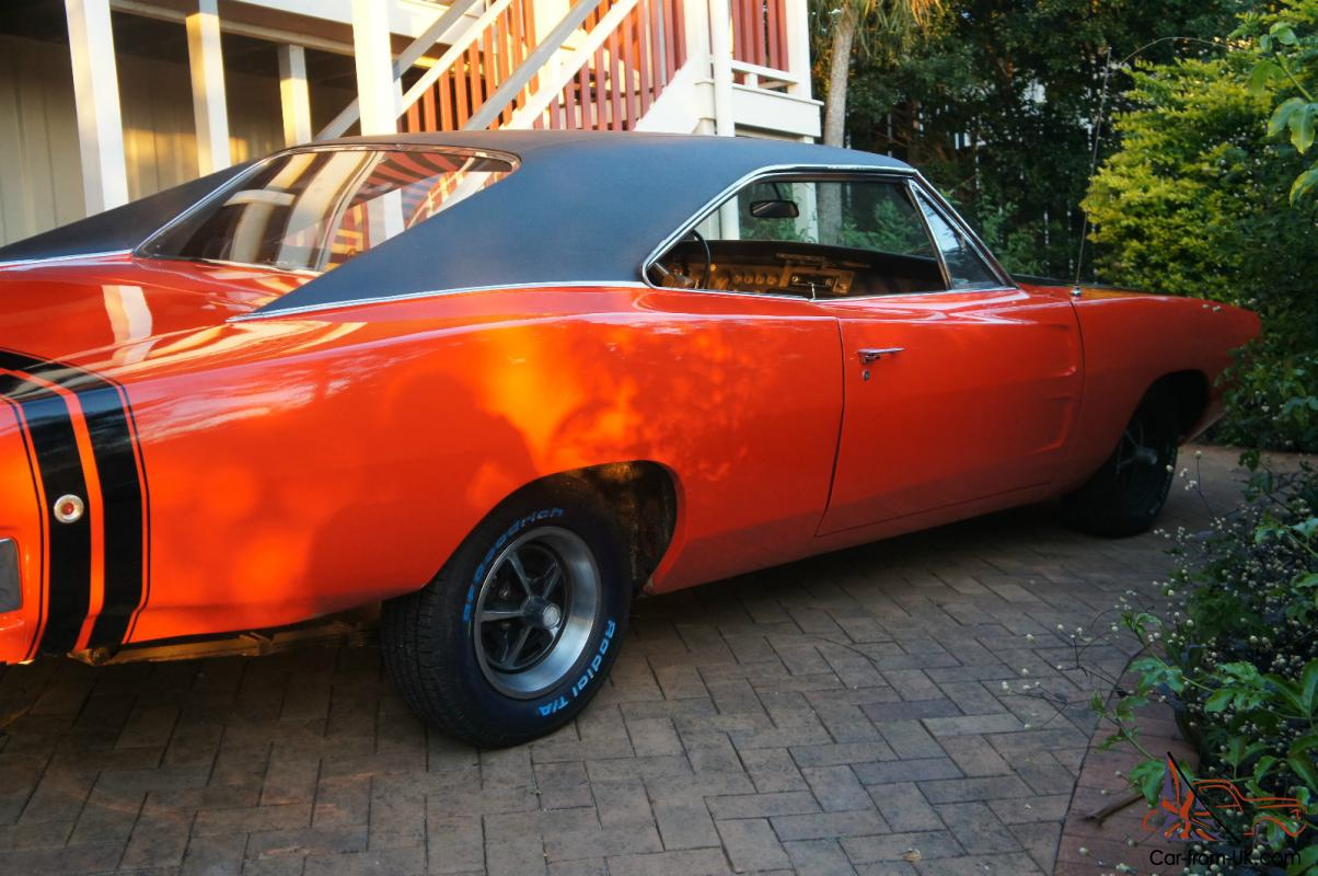 1968 Dodge Charger 440 Magnum R T in Brisbane, QLD