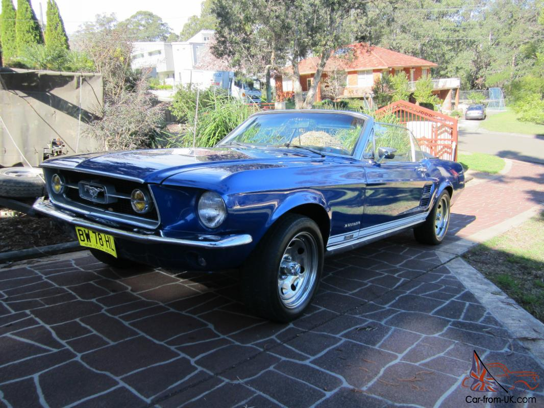 1967 ford mustang gta convertible in sydney nsw. Black Bedroom Furniture Sets. Home Design Ideas