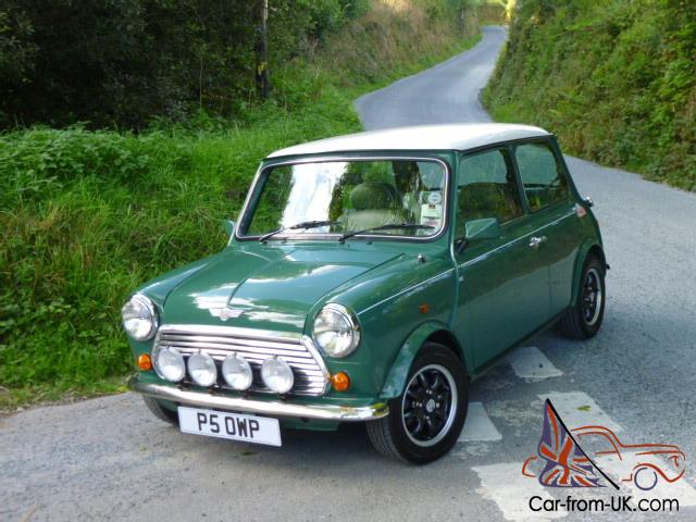 rover mini cooper 35 1 of only 200 made on just 8500 miles from new. Black Bedroom Furniture Sets. Home Design Ideas