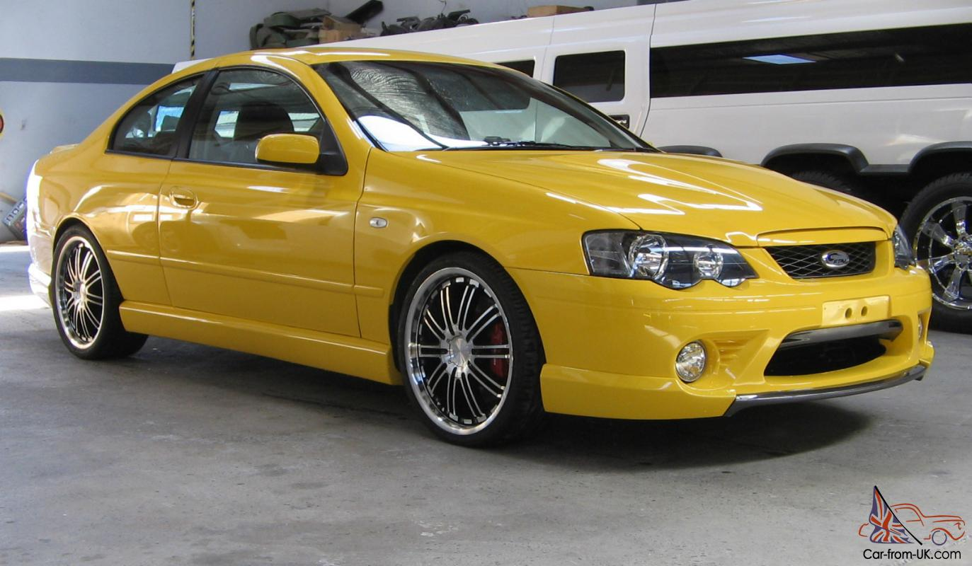 ford ba coupe xr8 2 door custom very rare suit fpv gt
