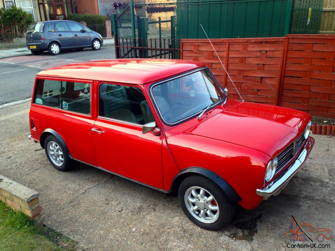 1980 Austin Morris Mini Clubman Estate