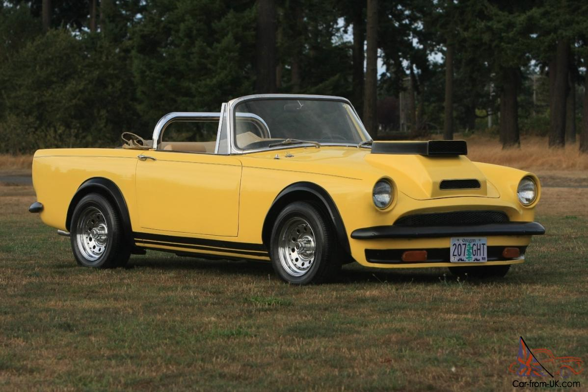 alpine sunbeam tiger mk1a convertible ford shelby roll bar race car 1 of a kind. Black Bedroom Furniture Sets. Home Design Ideas