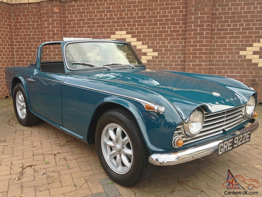 1967 Triumph Tr4a Right Hand Drive Original Uk Car Surrey Top