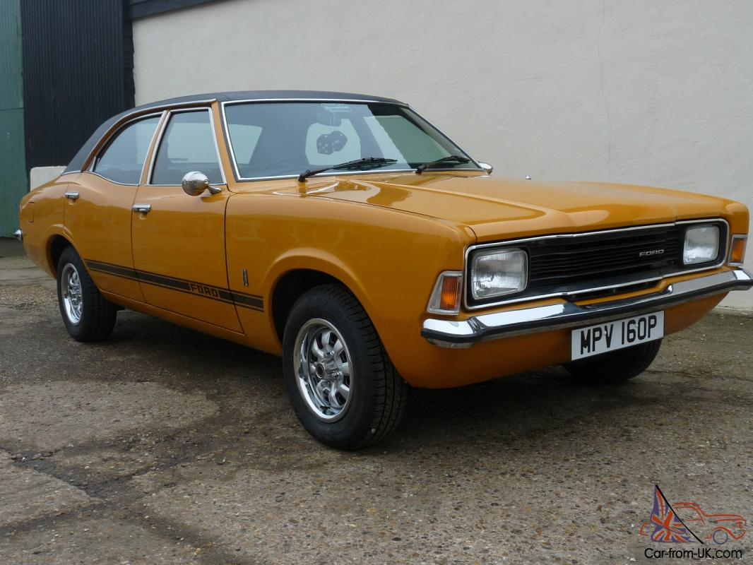 1976 ford cortina mk3 1300 l yellow