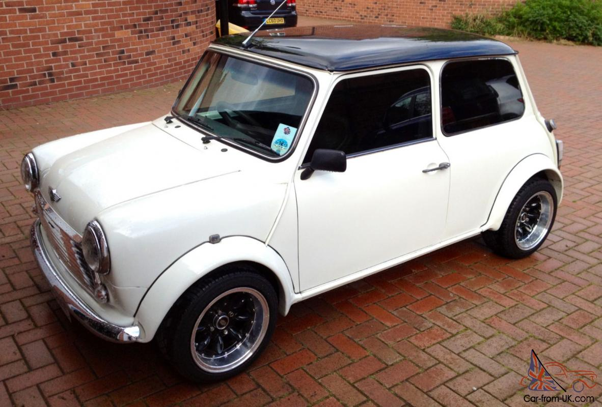 Classic Mini 1989 Rover Mini Mayfair White Now With A 1275 Engine