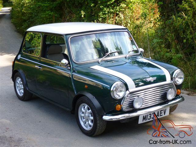 1995 Rover Mini Cooper 13i Greenwhite