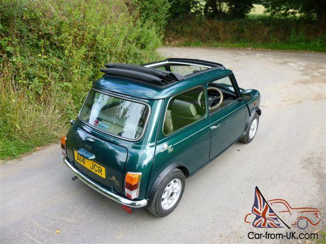 1992 rover mini british open classic on just 7700 miles. Black Bedroom Furniture Sets. Home Design Ideas