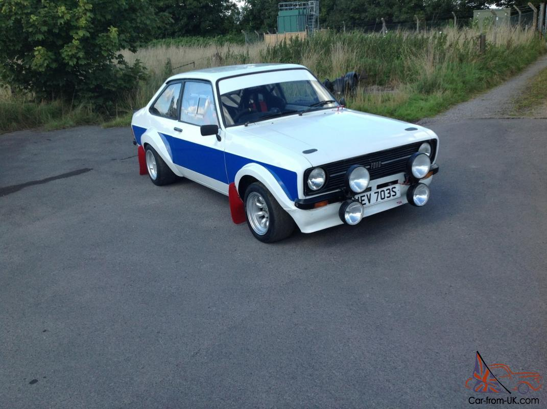 FORD ESCORT MK2 GROUP 4 RALLY CAR 2.0 16v