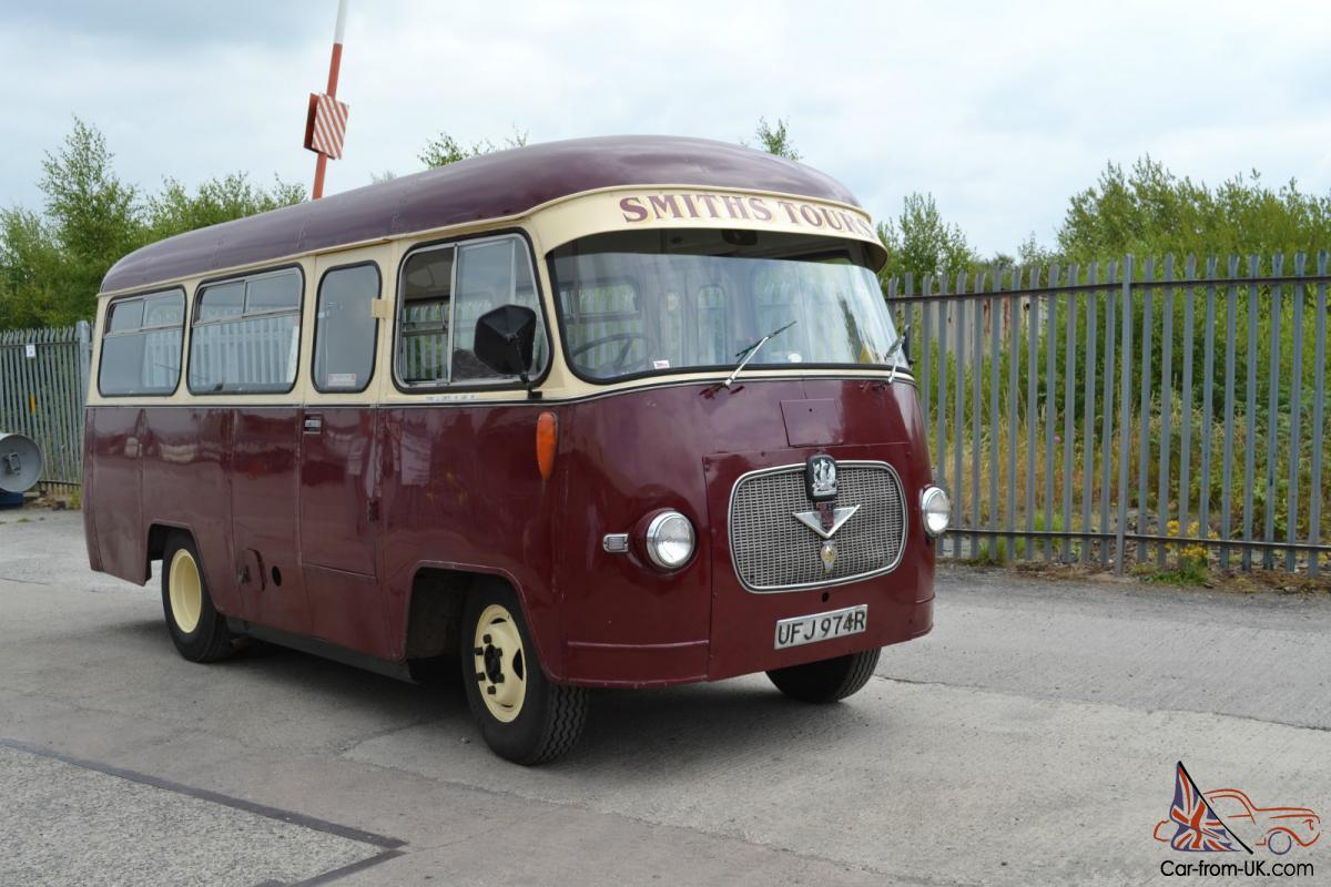 vintage Bedford Duple 20 seater Bus Goodwood revival transport