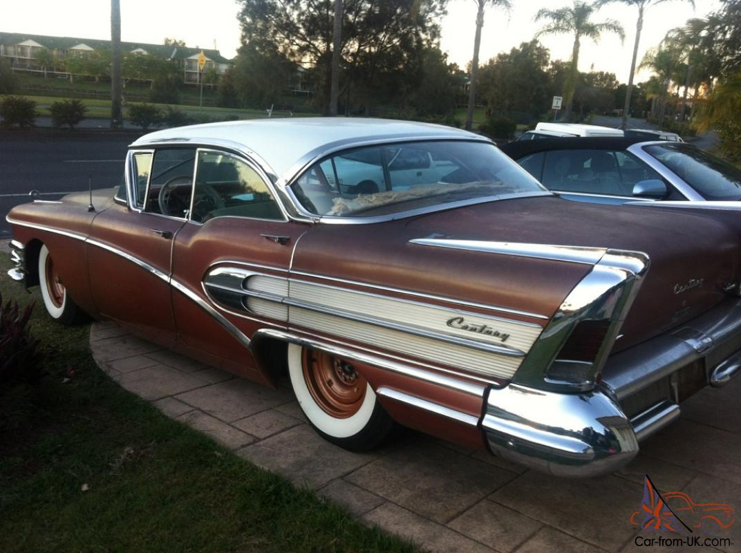 1958 buick century for Buick motors for sale
