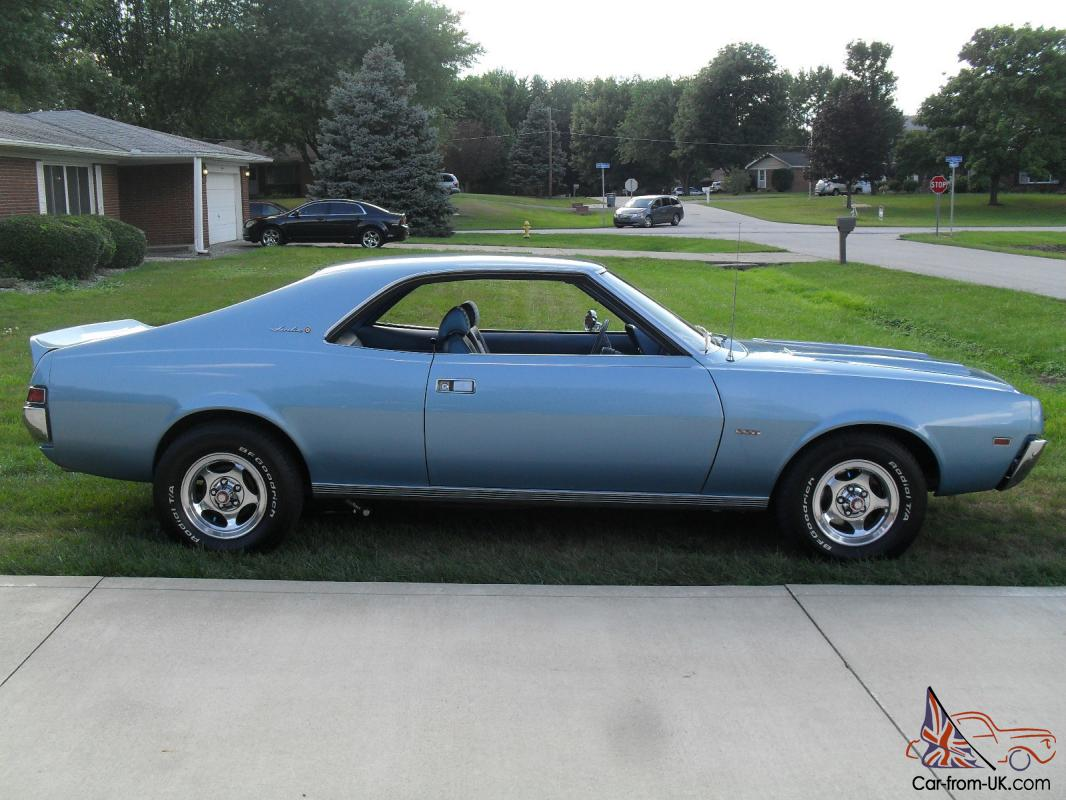 1969 AMC Javelin SST 1971 401 Engine