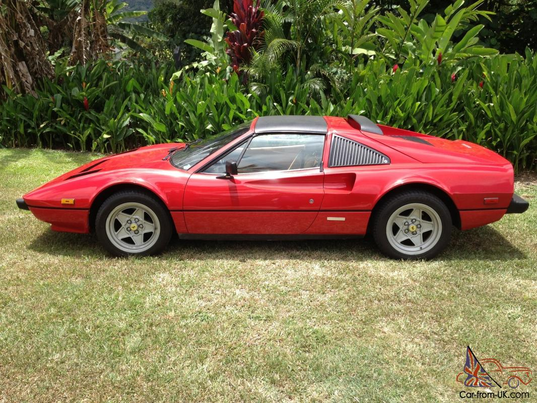 1985 ferrari 308 gts quattrovalve coupe 2 door 3 0l. Black Bedroom Furniture Sets. Home Design Ideas
